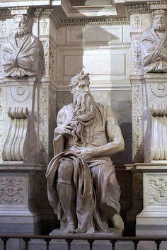 Rom, Piazza di San Pietro in Vincoli, San Pietro in Vincoli, Moses von Michaelangelo