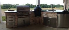 Big Green Egg Outdoor Design Ideas, Pictures, Remodel and Decor
