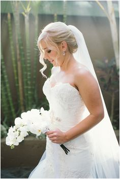 There are some weddings you just can't help loving more than others and Shelley & Braydon's wedding at Palm Dunes was one such. Orchid Bouquet, North Coast, Bridal Hair, Veil, One Shoulder Wedding Dress, Palm, Bride, Wedding Dresses, Photography