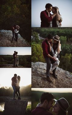 St. Louis Wedding Photographer - Castlewood State Park - scenic engagement photos - Charis Rowland Photography - intimate - romantic - couple