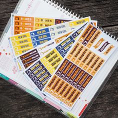 FOX - US TV Series Fall 2015 //  - Sticker Planner by FasyShop on Etsy