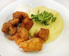 Denné menu Vranov | Vyprážaný karfiol, zemiaková kaša, tatárska omáčka - reštaurácia Hotel Patriot*** #hotel #restaurant