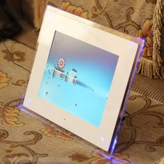 white digital picture frame - Google Search