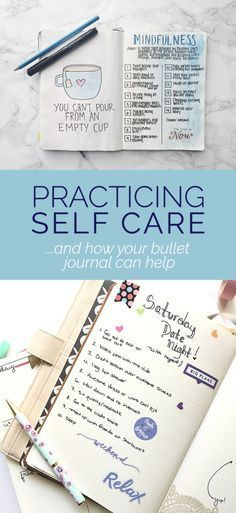 Self Care Bullet Journal - Spread ideas for your bullet journal! #selfcare #healthylifestyle #entrepreneur