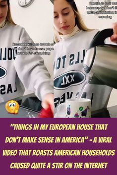 """""""#European #House #Sense #America #Viral #Video #Roasts #American #Households #Quite #Stir #Internet """" Stylish Winter Outfits, Winter Fashion Outfits, Loose Braid Hairstyles, Orange Popsicles, Prom Eye Makeup, Kitten Wallpaper, Japanese Bobtail, Bobtail Cat, Shire Horse"""