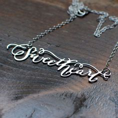Brevity Sweetheart Necklace