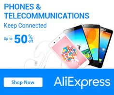 Phones and Telecommunications From 50% Off
