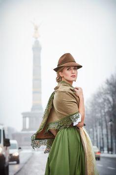 Elegant, Bad, Couture, Vintage, Fashion, Flannel, Fall Winter, Dirndl, Oktoberfest
