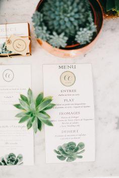 Stationery Wedding Inspiration - Style Me Pretty