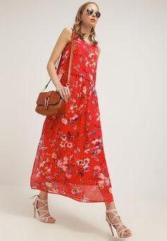 mint&berry Długa sukienka - fiery red - Zalando.pl