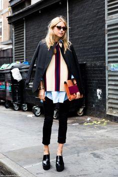 Look de pernille : sweater weather street style