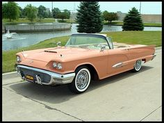 1959 Ford Thunderbird Convertible