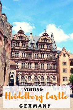 Guide and tips to visiting the Heidelberg castle ruins in Germany with kids