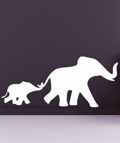 darling elephant decal