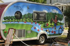 Have wanted to purchase and fix up a vintage trailer and join Sisters on the Fly.