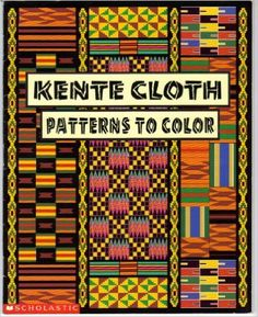 Activity book to teach about kente cloth which is culturally specific to the Akan people of Ghana.