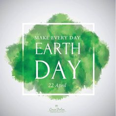 Today, remember the place you come from. The one place you will ever live in. Today, remember to make every day an #EarthDay.