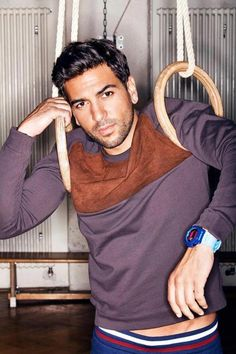 "What was God thinking when He created Elyas M'Barek? ... - ""Strike!"" (He definitely didn't consider my soul's dangerously affected well-being. Lord, have mercy.)"