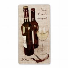 Shop Rustic wine bottles with a glass of wine poster created by myworldtravels. Personalize it with photos & text or purchase as is! Glass Bottles, Wine Glass, Wine Bottles, Wine Poster, Wine Bottle Labels, Custom Address Labels, Wine Tasting, Invitations, Invite