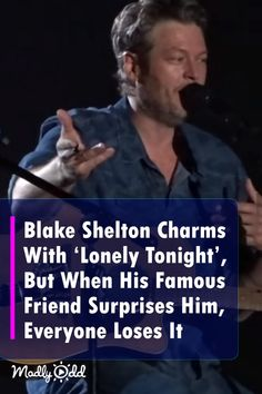 Blake Shelton Is Sensational, But When His Famous Friend Shows Up Unexpectedly, The Crowd Goes Crazy!