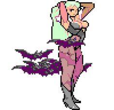 morrigan gif transparent darkstalkers marvel vs capcom gaming pzl neogohann - picslist.com