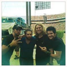 Luke, Kent, James, and Michael