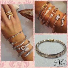 ¿¿Te gustan nuestras pulseras?? #swalem #Silver #plata #gold #rose #fashion #tendencia #spain #jewel Bangles, Bracelets, Jewelry, Fashion, Silver, Bangle Bracelets, Trends, Moda, Jewlery