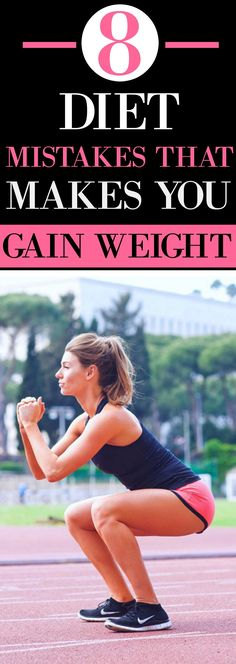 Diet mistakes that make you gain weight. Tips and tricks on how to avoid weight gain. These quick and easy weightloss tips.