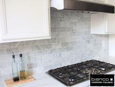 3 X 12 Carrara Backsplash Google Search Marble Tile Subway Tiles