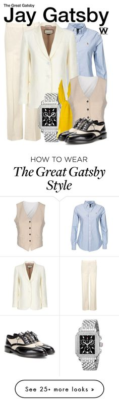 """""""The Great Gatsby"""" by wearwhatyouwatch on Polyvore featuring Vince, Polo Ralph Lauren, Gucci, Michele, Kenzo, Barena, Burberry, television and wearwhatyouwatch"""