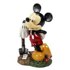 Your WDW Store - Disney Garden Statue - Flower  Garden - Mickey Mouse