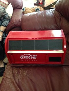 90's Vintage Coca Cola Bread Box--Rare Find! #CocaCola