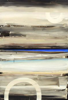 Marketa Sivek | Storm (Blue No. 7) | oil on canvas