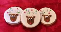 Great idea for reindeer cookies!