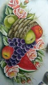 Fruit Painting, Fabric Painting, Painting & Drawing, Diy Canvas, Canvas Wall Art, Modern Tapestries, Fruits Drawing, Kitchen Artwork, Fruit Picture