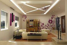 LED-Beleuchtung+Wohnzimmer