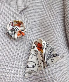 Lapel Pins Mens Lapel Pin Flower Lapel Pin Pocket Square Set Floral Liberty of London Colorful Boutonniere Gifts For Men Custom Handkerchief