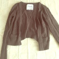 Abercrombie&Fitch Cardigan Thick brown cardigan for fall/winter; SUPER COMFY!! Abercrombie & Fitch Sweaters Cardigans