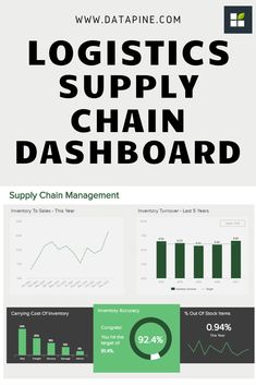 Get the best logistics dashboards: ✔ See different examples, templates & designs ✔ Track the right KPIs for your inventory, warehouse & transportation Inventory Management, Supply Chain Management, Microsoft Excel, Complex Analysis, Logistics Supply, Dashboard Examples, Dashboard Interface, Transportation Industry