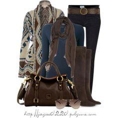 """Fall - Aztec Sweaters"""
