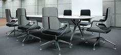 Interstuhl   Silver chair   designed by Hadi Teherani (2006)