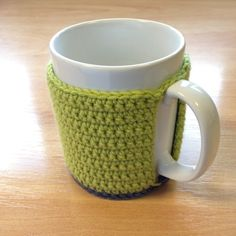 Hand crocheted mug hug. £4.00