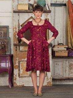 Josephina Ladies Dress | Ladies, Dresses :Beautiful Designs by April Cornell