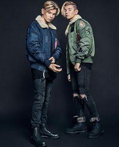 Marcus and Martinus ☺️ Cute Boys, My Boys, Delicious Boy, Bars And Melody, Dream Boyfriend, Boy M, Perfect Boy, Big Love, Bambam