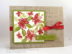 For more details please see my blog: http://didyoustamptoday.blogspot.com/2015/10/garden-poinsettia-stampin-up-garden-in.html  thanks for looking!  Did you stamp today?