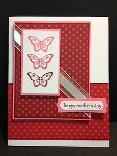 Papillon Potpourri Butterfly Card Stampin' Up! Rubber Stamping