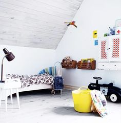 Swiss inspired kids room