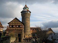 Kaiserburg Nürnberg, Bayern, Deutschland