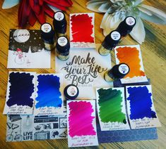 The Robert Oster Get.Go Collection. 7 all new Colours Colours, Collection