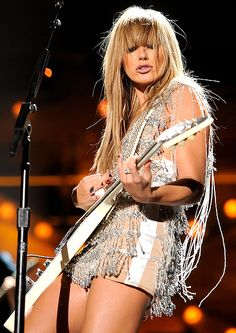 grace potter-love her! Gorgeous and talented! Elvis Presley, Music Is Life, My Music, Rock N Roll, Grace Potter, Women Of Rock, New Wave, Guitar Girl, Female Guitarist
